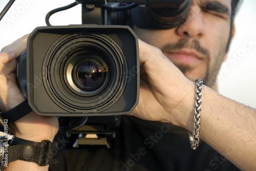 Fotografie, Obraz  Filming