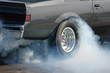 canvas print picture - Smoking tire  1