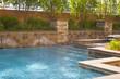 Leinwandbild Motiv Swimming pool