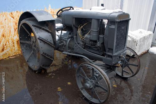 Fototapety, obrazy: tractor, retro