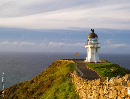 Foto-Leinwand - North Cape Neuseeland (von Marc von Hacht)