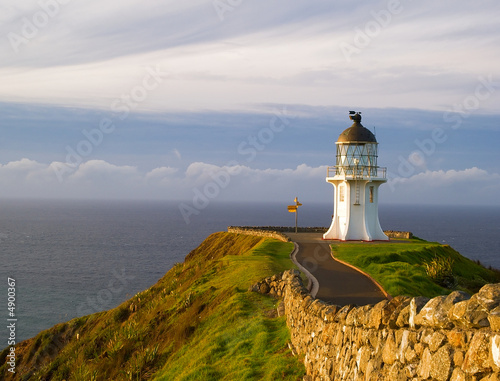 Foto-Leinwand - North Cape Neuseeland