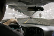 Driving In A Tunnel, Between U...
