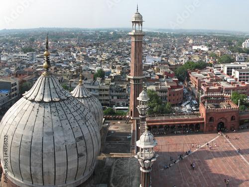 Stickers pour portes Delhi inde - delhi - mosquée