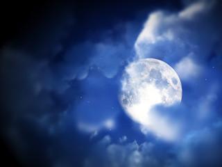 Moon Night Sky 9