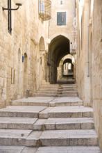 Narrow Street In Jewish Quarter, Jerusalem
