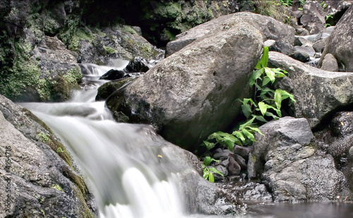 Fotografie, Obraz  Queda d' água