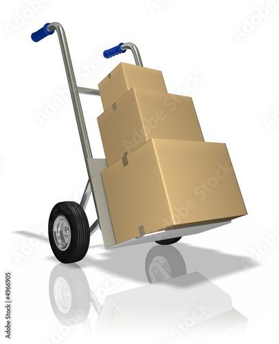 Fotografie, Obraz  Package Delivery