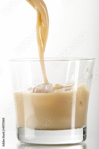 Fotografie, Obraz  liqueur in glass