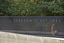 Memorial Wall In Arlington Cem...