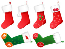 Illustration Of Christmas Stoc...