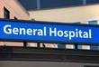 General Hospital sign