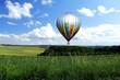Ballon über Feldern