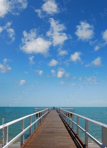 Foto-Kissen - Ocean View (von James Thew)