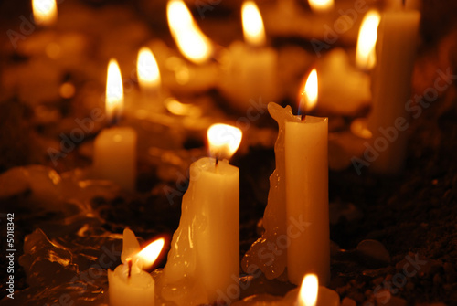 Fotografia  Remembrance Candles