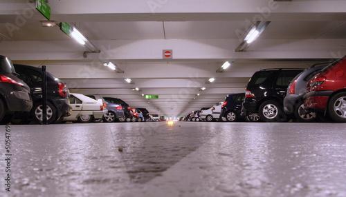 parking souterrain Fotobehang