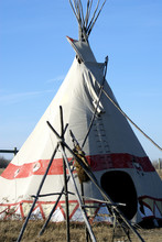 Example Of American Plains Indian Teepee