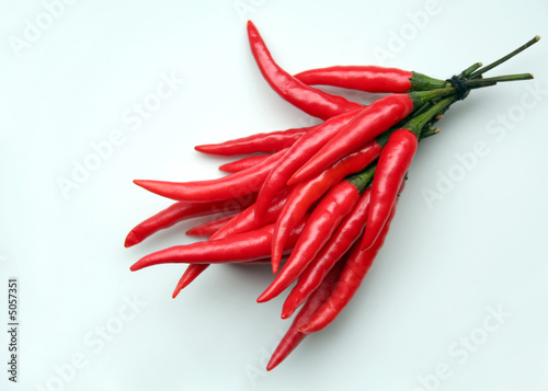Staande foto Hot chili peppers red hot chili I