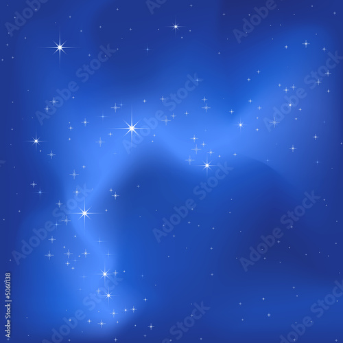Foto-Rollo - starry sky background (von dip)