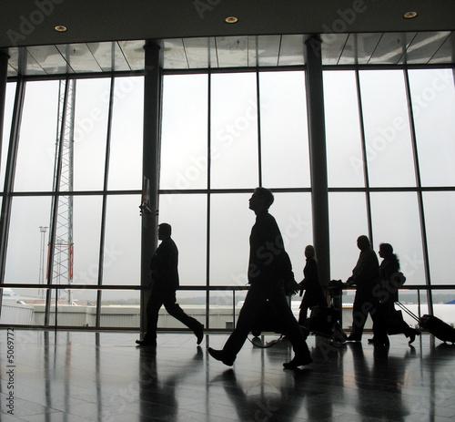 Foto op Aluminium Luchthaven Travellers