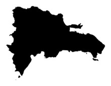Map Of Dominican Republic