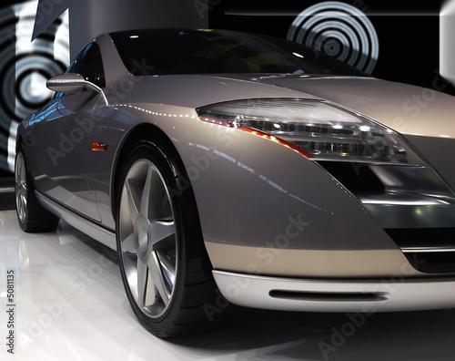 Fototapeta The conceptual car obraz na płótnie