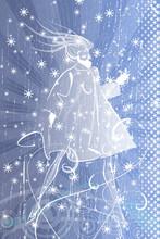 Winter Woman. Stylish Abstract...