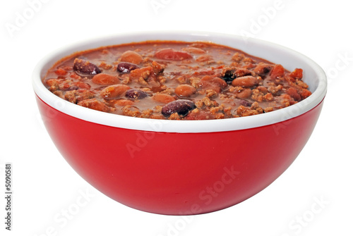 Chili with Beans Canvas Print