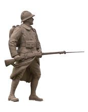 Statue Soldat Détourée