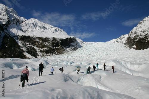 Printed kitchen splashbacks Glaciers Glacier Walk - Fox Glacier New Zealand