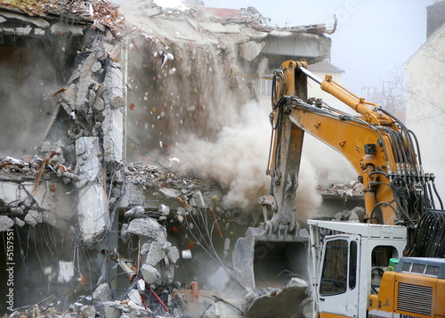 Fotografie, Obraz demolition