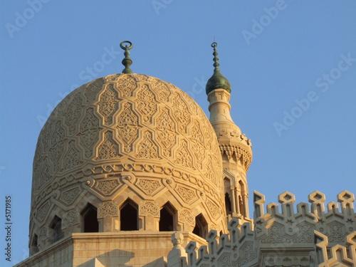 Obraz na plátně alexandrie - mosquée abou el-abbas