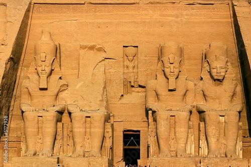 Obraz na plátne Ancient temple abu simbel - egypt