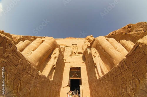 Fotografia, Obraz  Ancient temple abu simbel - egypt