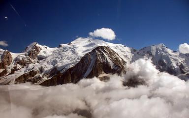Panel Szklany Góry Mont Blance
