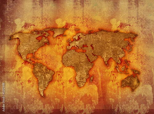 Türaufkleber Weltkarte world map textures and backgrounds