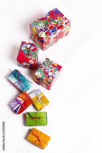 Fototapeta Christmas presents obraz na płótnie
