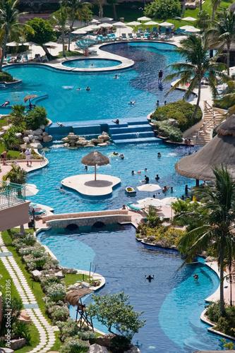 Fotografie, Obraz  Caribbean Resort Hotel