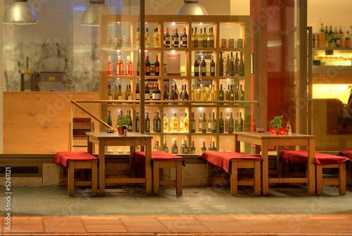 Rustikale Bar
