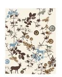 Wildlife floral and deer