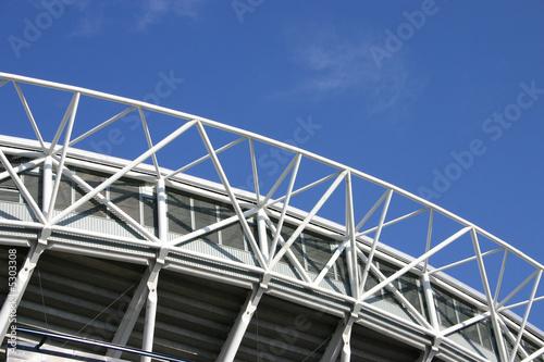 Foto op Plexiglas Stadion Stadium arch