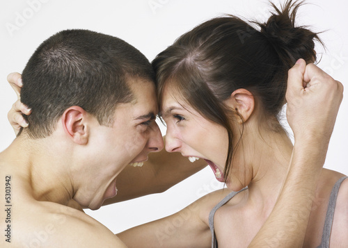 Valokuva  Fighting lovers