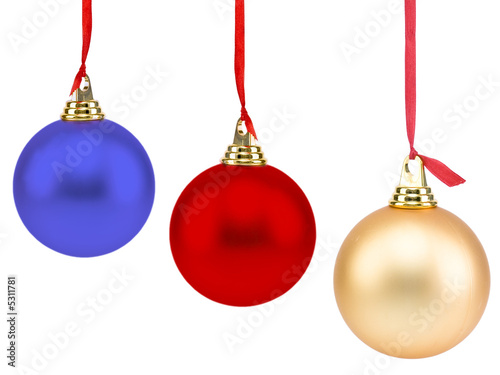 Christmas Balls Canvas-taulu
