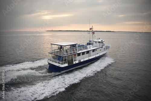 Photo Passenger ferry boat.