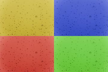 gocce multi colore