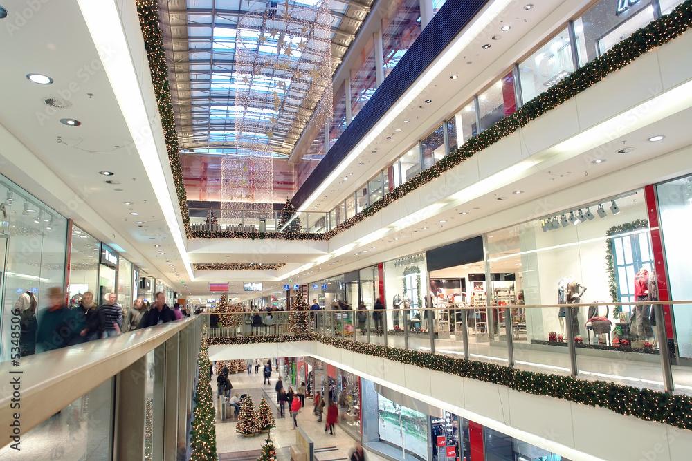 Fototapeta Christmas shopping