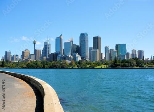 canvas print motiv - steffenw : Skyline Sydney