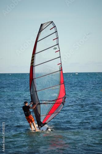 Virginia Key Windsurfer
