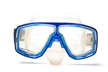 An Isolated Shot Of A Snorkeling Goggles