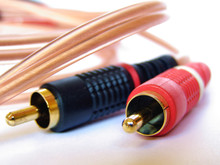 Stereo Audio Phono Plugs Cable